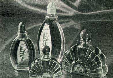 "Духи и одеколон ""Ландыш"", ""Цветок Грузии"" 1954"