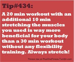 A 20 minutes workout is a way to have a #healthyliving
