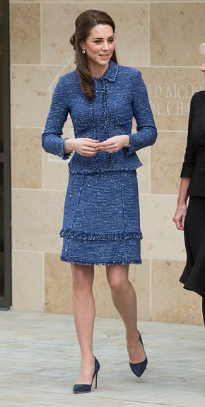 Catherine Duchess of Cambridge during a visit to open Ronald McDonald House Evelina London on February 28 2017 in London England