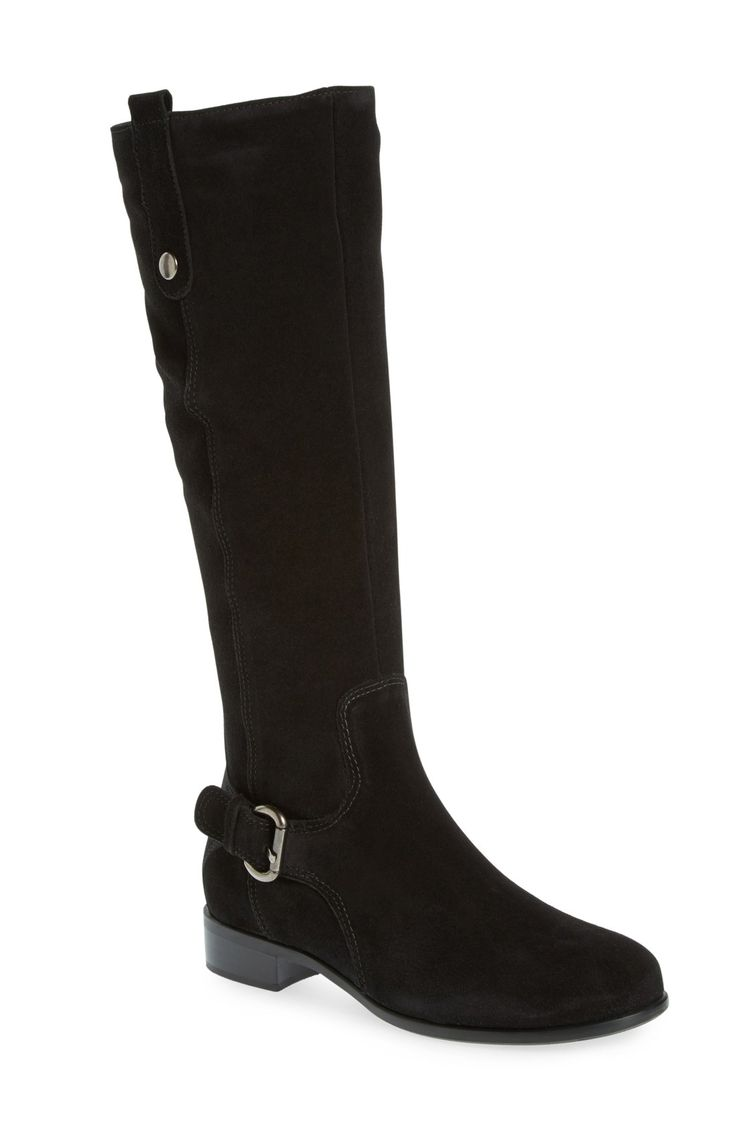 La Canadienne, Stefanie Waterproof Boot in Black Suede, $450 via Norstrom. '