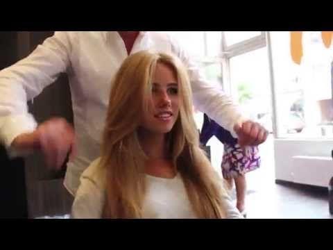 Love her hair!!! JC Axelle Despiegelaere pour L'Oréal Professionnel Belgique ! - YouTube