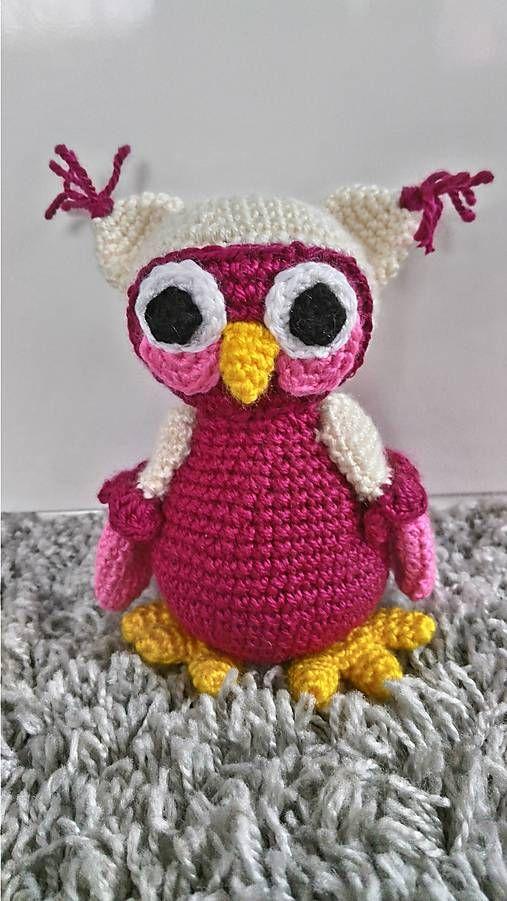 Jamin / sovička Sofia crochet owl