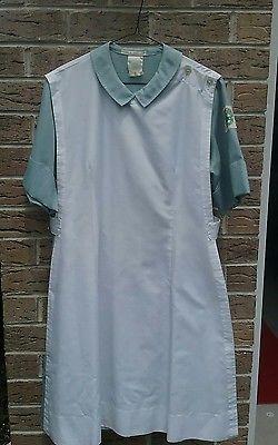 60s Vintage School of Nursing Uniform; Jersey Shore Medical Center Hospital Dress