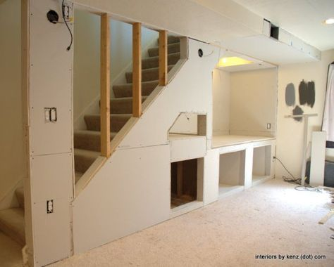 Best 65 Trendy Narrow Basement Stairs Stairways Basement 400 x 300