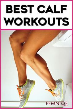 Killer Calf Exercises For Women - These are some of the best calf workout for women. They will tone your calves and make them lean and toned. If you want sexy lean calves then you need to give this calf toning workout a try!