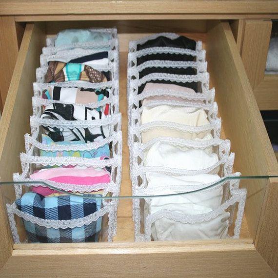 Drawer Underwear Organizer By LeapFrogOrganizing On Etsy