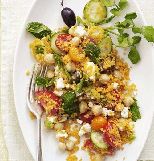 Рецепт овощного восточного салата
