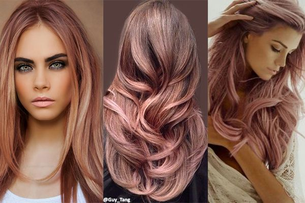 Hair 3 Rose Gold