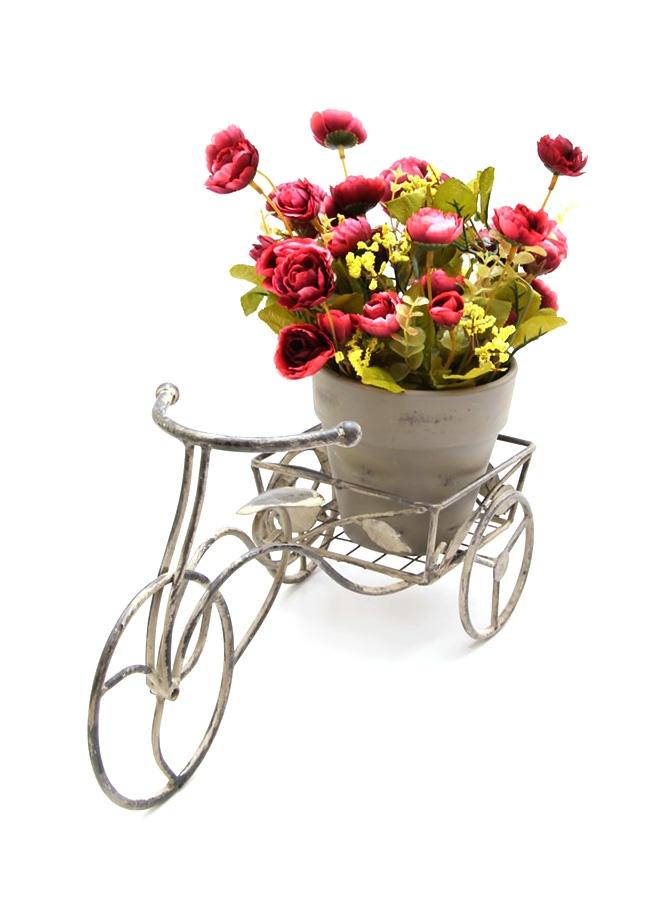 Chiccy Deco Life Ferforje Çiçekli Bisiklet.