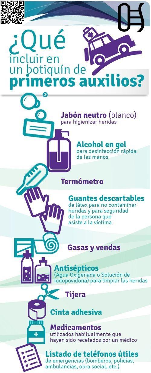 #Botiquín de primeros auxilios