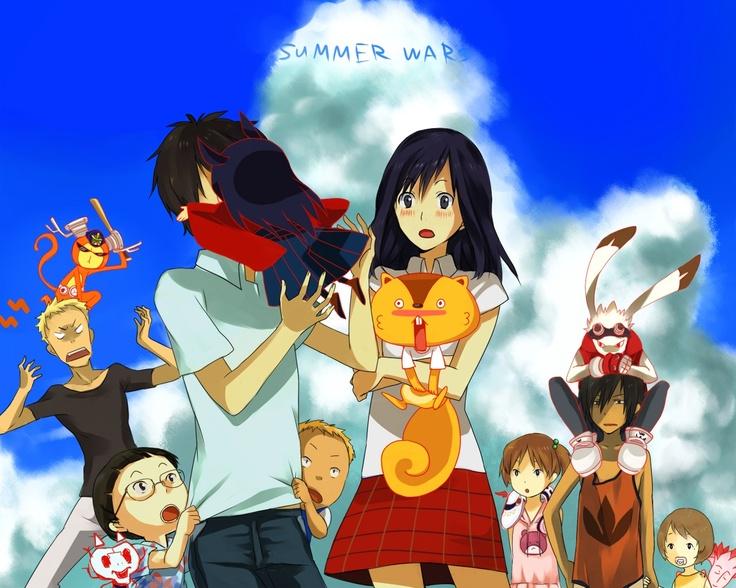 Summer Wars, love this movie! Anime and Manga