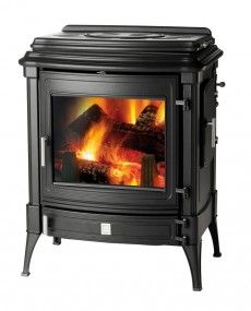 Nestor Martin Stanford 9+ Woodburning Stove with Cook Top - Woodburning Stove - Wood Burning Stove - Freestanding Stove - Multifuel Stove - Cast Iron Stove - Traditional Stove