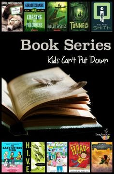 great book series that will HOOK your kids on reading!