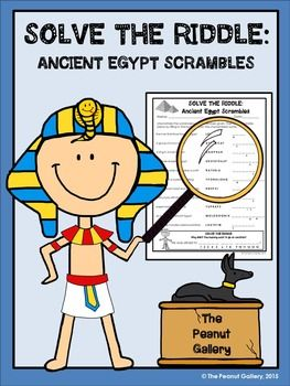Add some fun to your Ancient Egypt unit with this FREE puzzle resource!