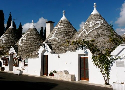 Puglia is a great, lesser known spot for an authentic vacation in Italy.  You can also stay in a Trullo. #travel #italy
