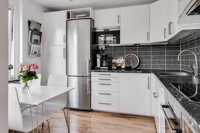 Blog wnętrzarski - design, nowoczesne projekty wnętrz: Wnętrza mieszkań w bloku - skandynawski styl