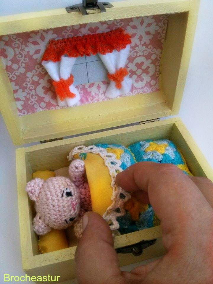 Caja sorpresa amigurumi