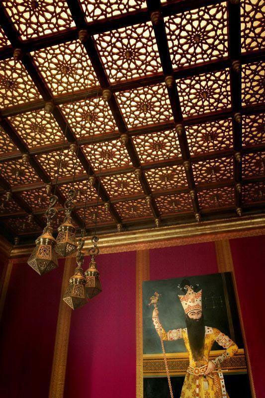 Unique and Cozy Arabian Interior Design Ideas Arabic Interior Design with Unique Ceiling