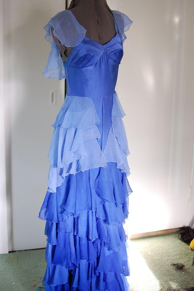 Blue Hermione Prom Dress