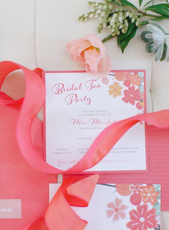 215 best images about Bridal Showers – Bridal Shower Invitations Tea Party Theme