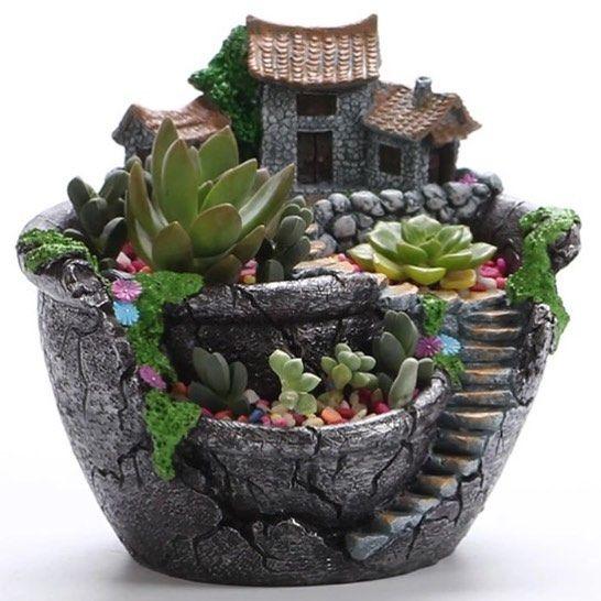 Schattig #plantenbakje