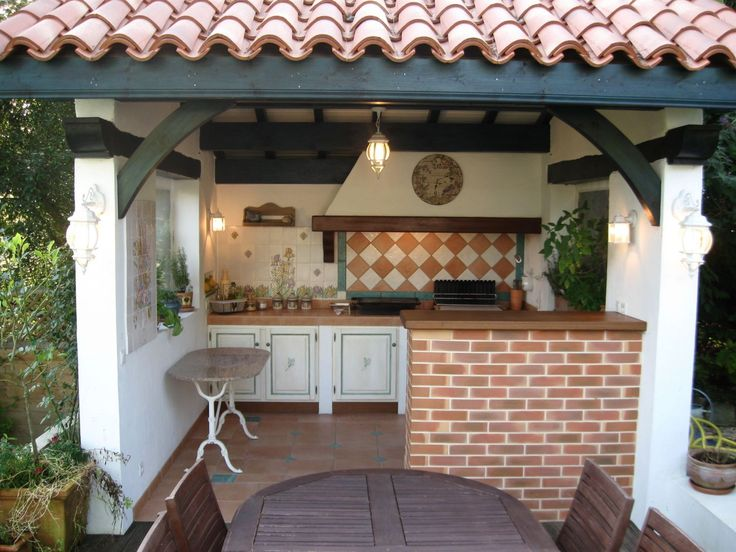 1458 best cuisine d 39 t patio terrasse images on for Cuisine ete exterieure pergola