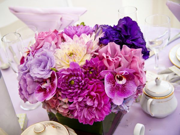 Purple Themed Bridal Shower