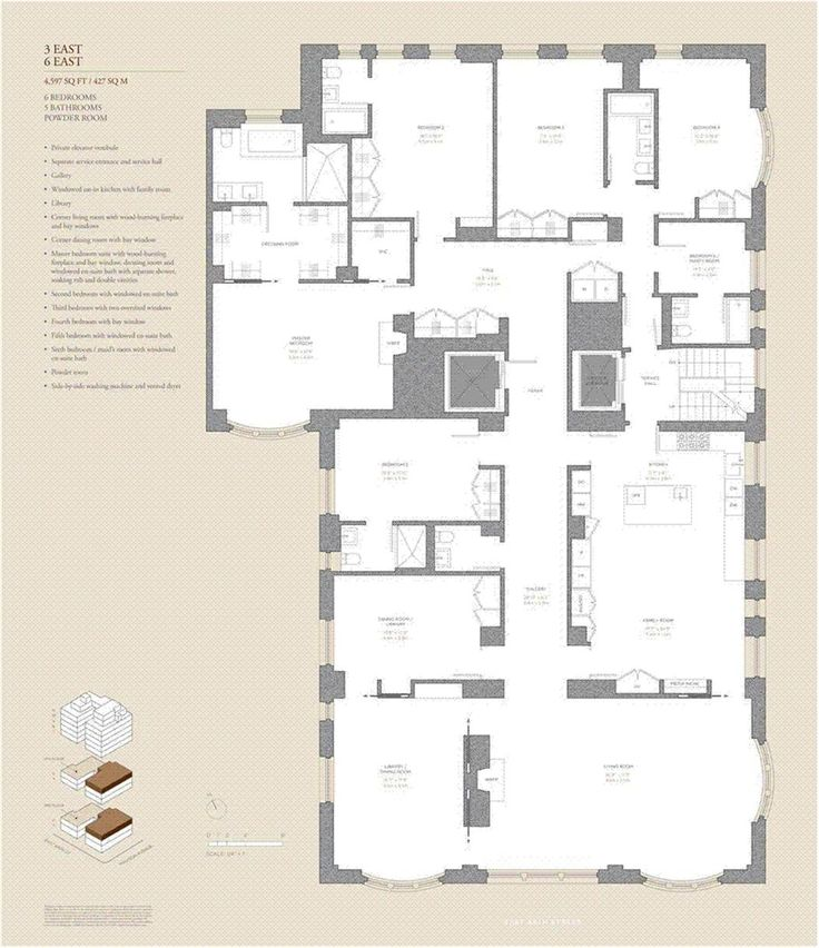City living apartment a collection of architecture ideas for Apartment building plans 6 units