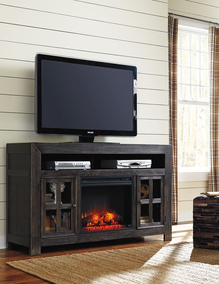 Tv Table With Storage Part - 43: Living Room Storage: Galveston Large TV Stand By Ashley Furniture. You Can  Also Choose