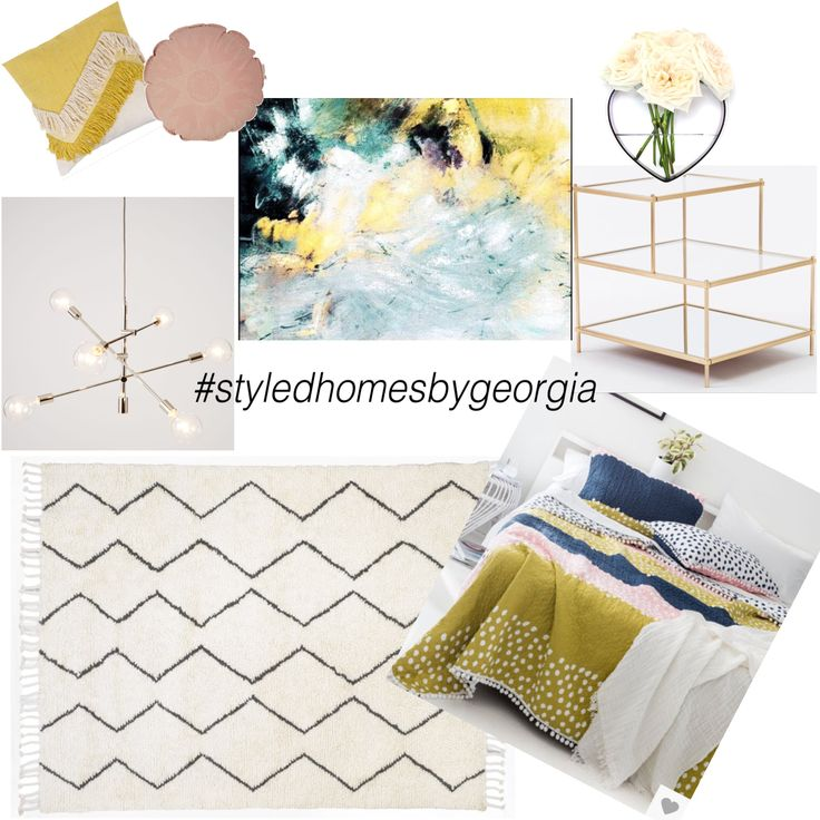 GUEST BEDROOM || moodboard sent to our client today #styledhomesbygeorgia #moodboard #interiors #design #propertystylist #melbournestylist #interiordecorator #uistylistscout #girls #girlsbedroom #guestbedroom