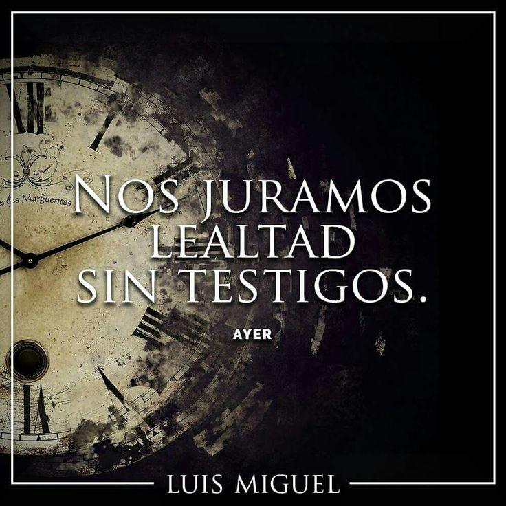 Luis Miguel canciones