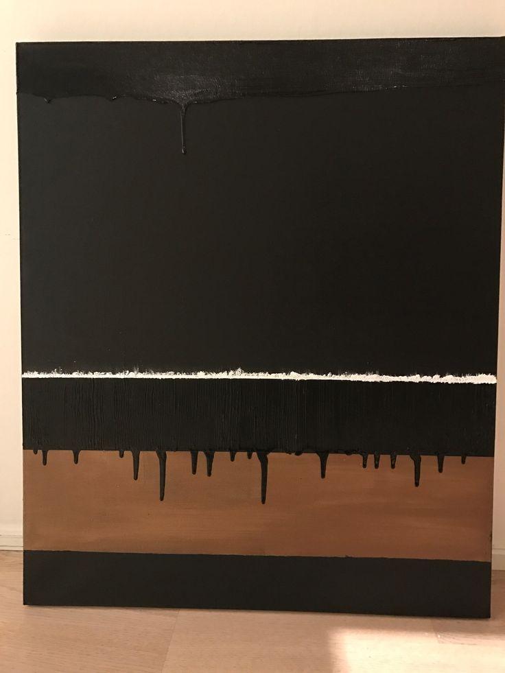 Acrylic by Mia Knudsen.