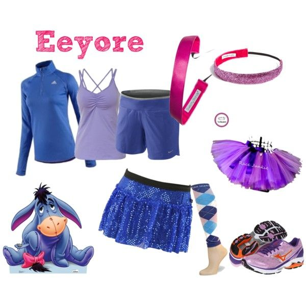 36 best running costumes disney images on pinterest carnivals eeyore running after his tail by dormousie on polyvore solutioingenieria Images