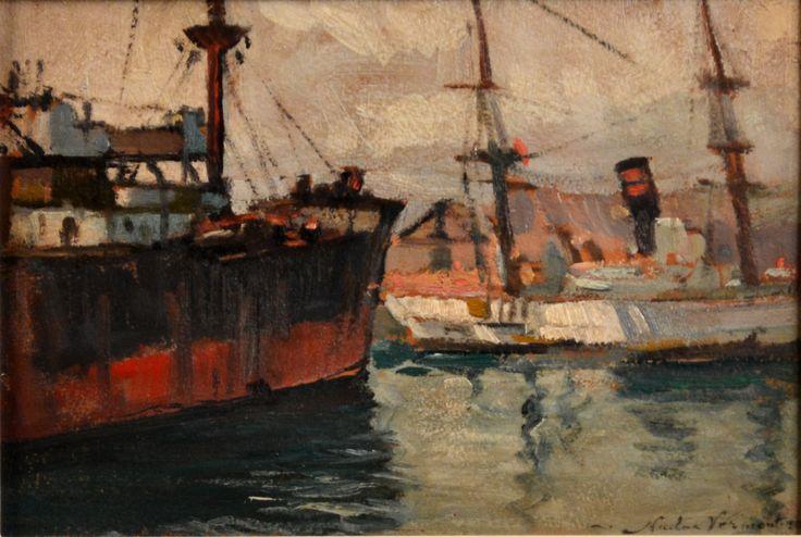 Nicolae Vermont - NAVE ÎN PORT