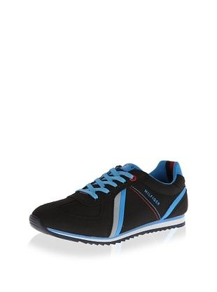 50% OFF Tommy Hilfiger Men's Fairfield Fashion Sneaker (Black)