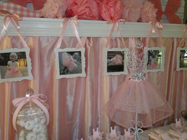 Ballerina Birthday Party Ideas   Photo 8 of 50
