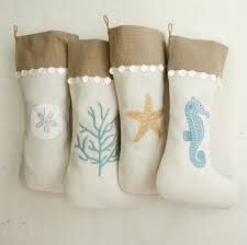 coastal christmas stockings for grownups