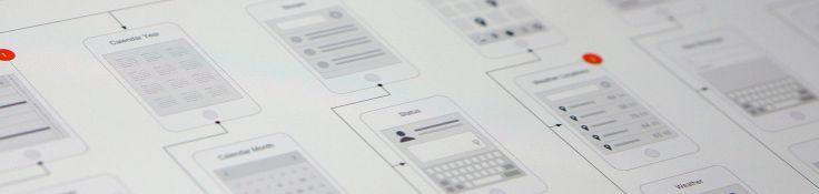 Mobile App Visual Flowchart OmniGraffle Stencil – UX Kits