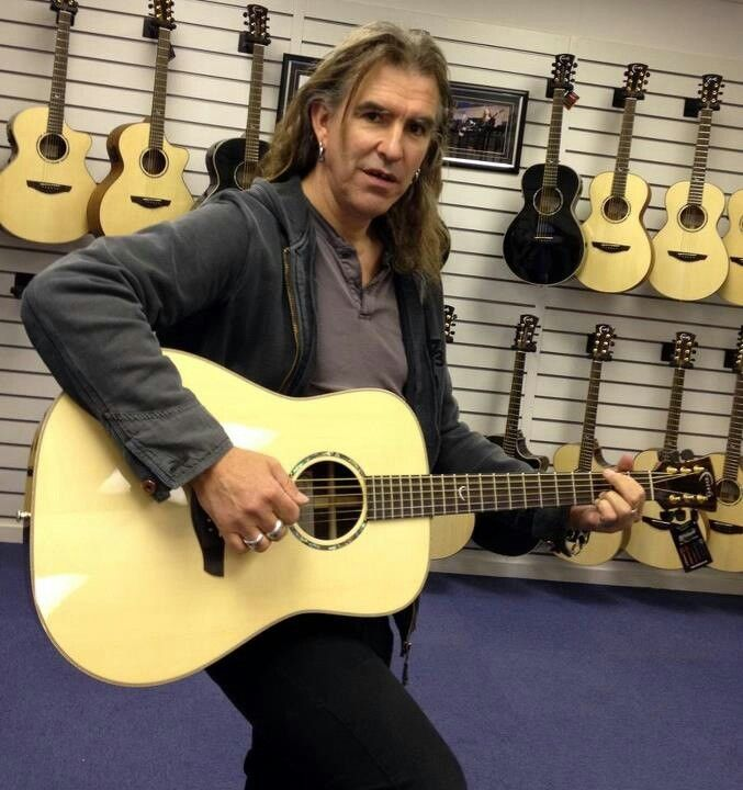 Justin of New Model Army