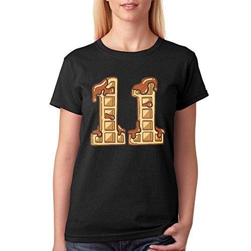 11 Eggos - Stranger Things for Women T Shirt (Medium, Bla... https://www.amazon.com/dp/B06XBQM2CS/ref=cm_sw_r_pi_dp_x_0AWSybHZ0N6P6