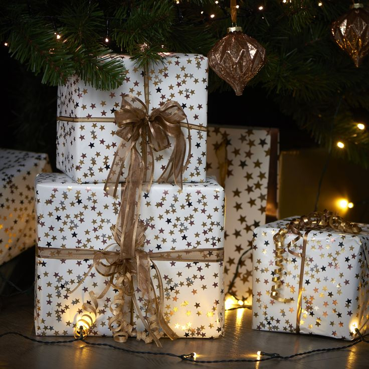 60 best wilko let it glow images on pinterest wilko christmas add sparkle to under your christmas tree with glitzy wrapping paper gold solutioingenieria Gallery