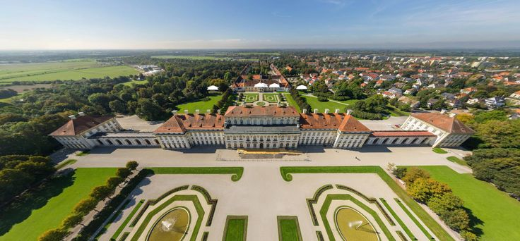 New Palace Schleissheim, Aerial View (Germany) by T. Emrich https://www.360cities.net/image/luftaufnahme-neues-schloss-schleissheim#0.30,30.43,110.0