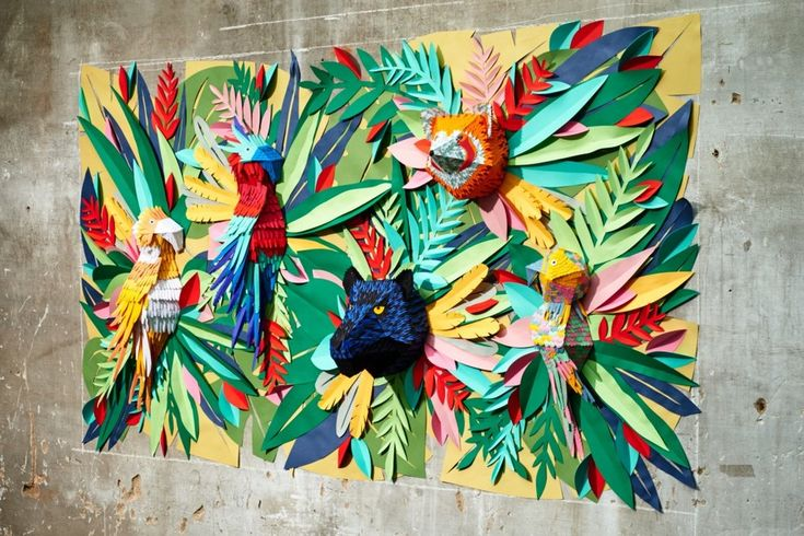 Mlle hipolyte tropical jungle