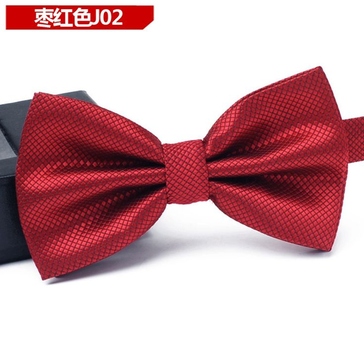 Bow ties: Cheap-neckties selection of classic bow ties. Here you will find anything from the classic black bow tie for black tie events, to light pink bow ties for weddings, all the way to playful polka dot bowties with matching pocket squares.