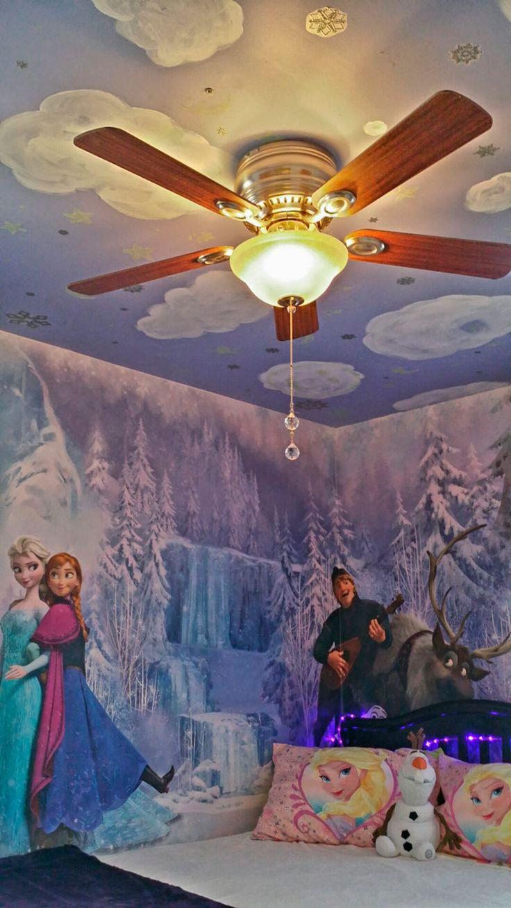 Se sua filha, afilhada, neta, gosta muito do tema Frozen para decoração do quarto Frozen, você precisa imediatamente conferir esse post de muitas ideias.
