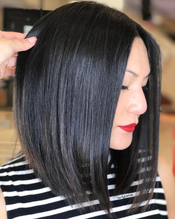 "314 Likes, 3 Comments - Kim Tran (@hairbykimtran) on Instagram: ""Fresh cut on this gorgeous gal ✨ #HBKT #HairByKIMTRAN"""