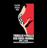 **SASSY!** Thrills to Frills Red Rose Formal...Kappa Delta Rho