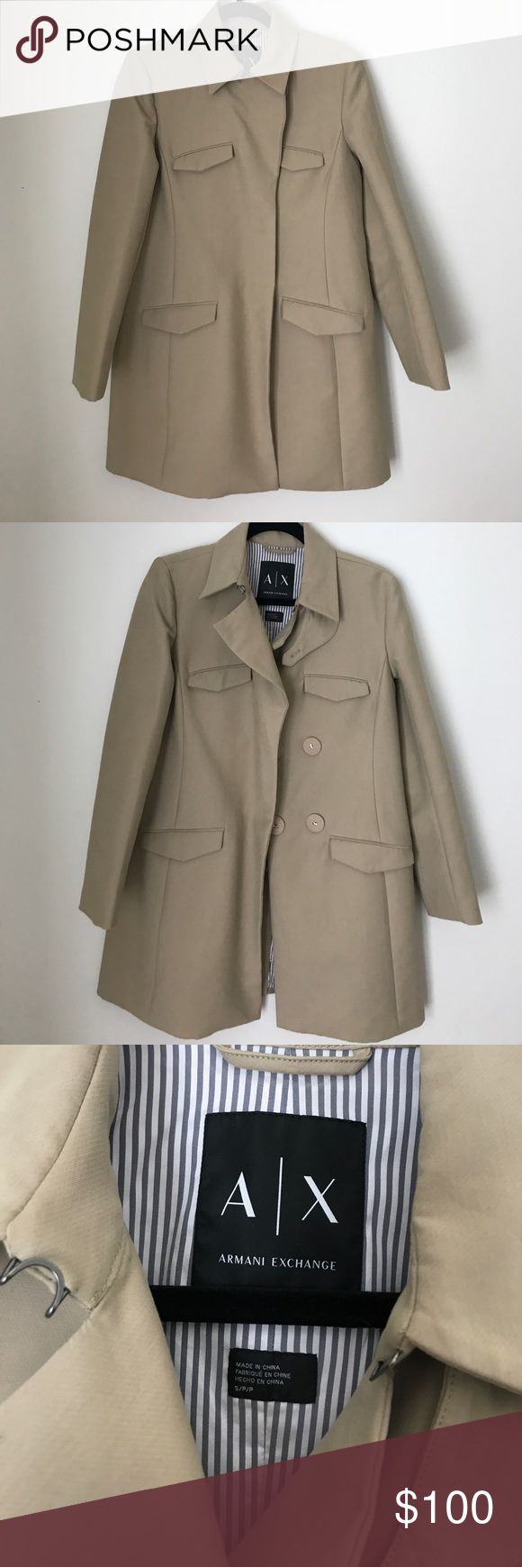 Armani Exchange Coat Very good condition. Fully lined. A/X Armani Exchange Jackets & Coats