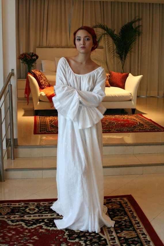 Hey, I found this really awesome Etsy listing at https://www.etsy.com/listing/258252617/100-cotton-embroidered-nightgown-long