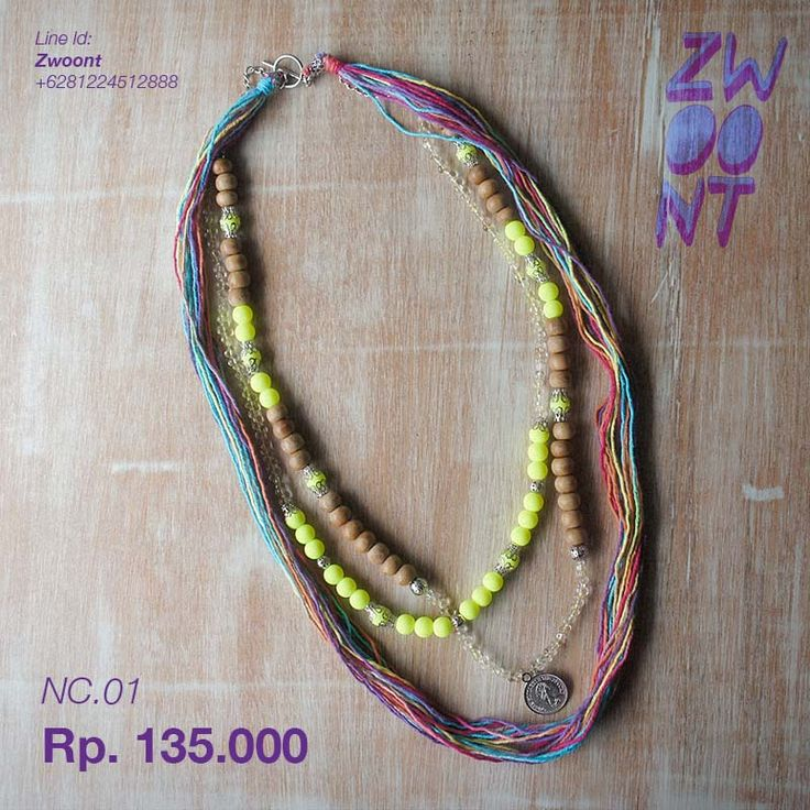 Hello Monday Necklace from @Zwoont Indonesian Local Brand.